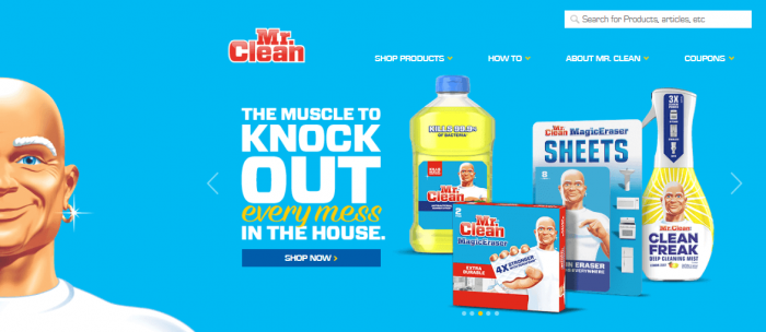 Mr Clean as testimonial