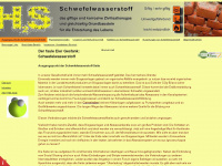 schwefelwasserstoff.de Webiste Thumbnail