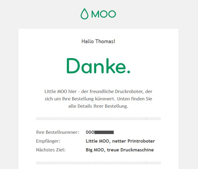 E-Mail von Little MOO
