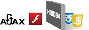 Ajax Flash Hidden Script