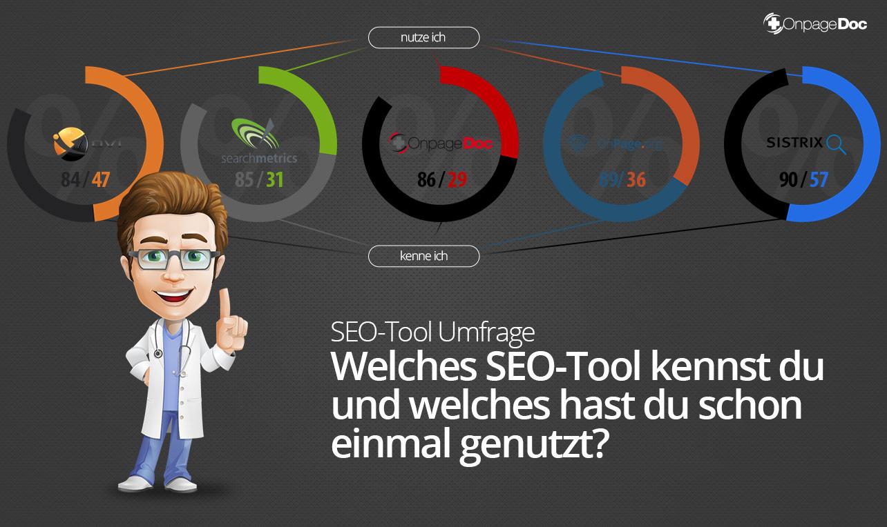 SEO-Tool-Umfrage
