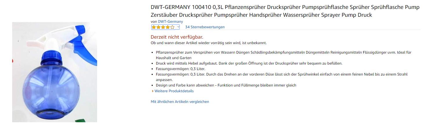 Produktseite Amazon