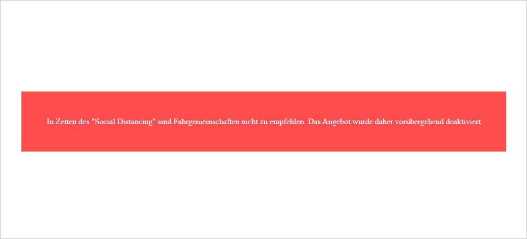 deaktivierte Website