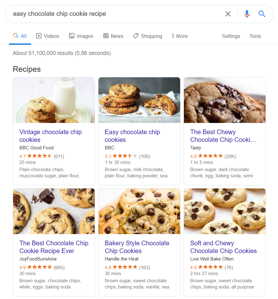 recipe rich snippets 2