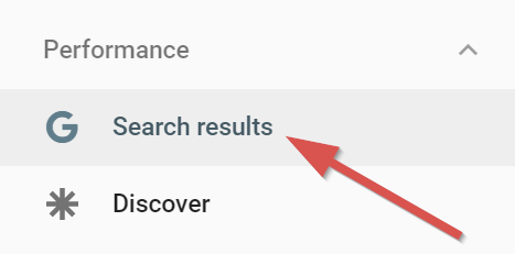 search results performance