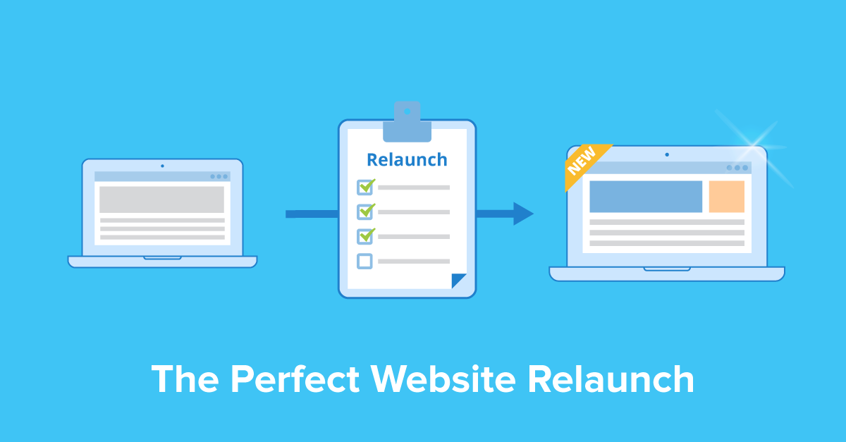 the perfect website relaunch