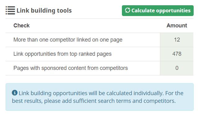 link opportunities