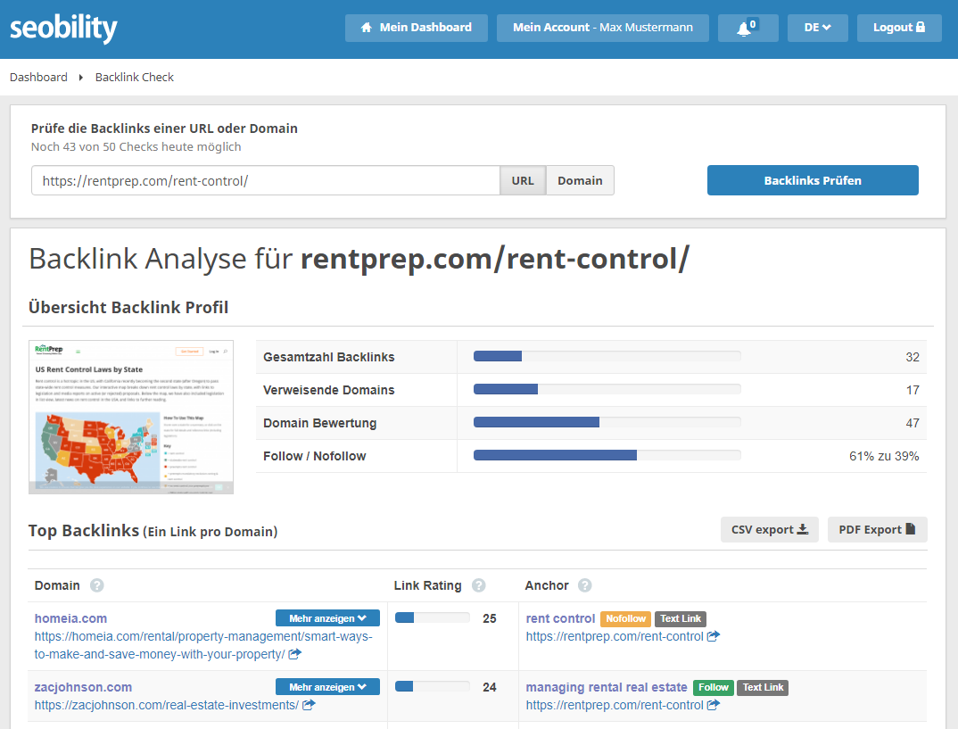 backlinks rentprep