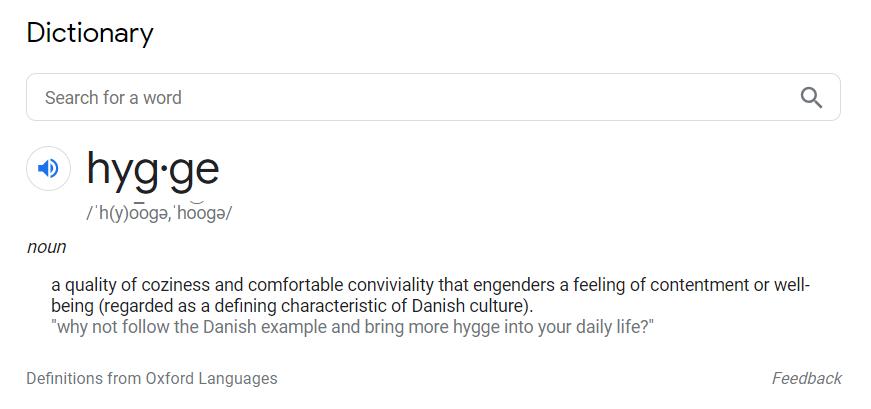 búsqueda de definiciones