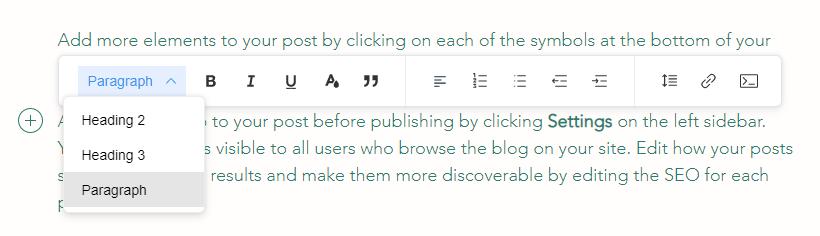 blog heading tags