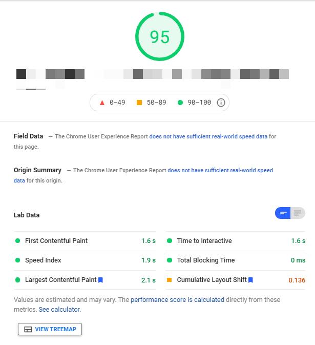 joomla pagespeed insights test